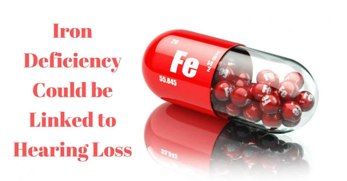 iron deficiency linked to hearing loss